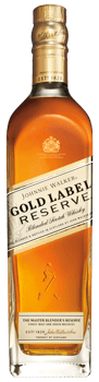 Botella de Johnnie Walker Gold Reserve Label