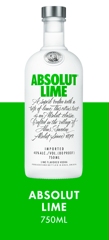 Absolut Lime 750ML