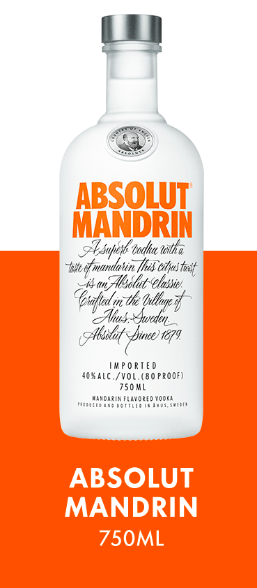 Absolut Mandrin 750ML