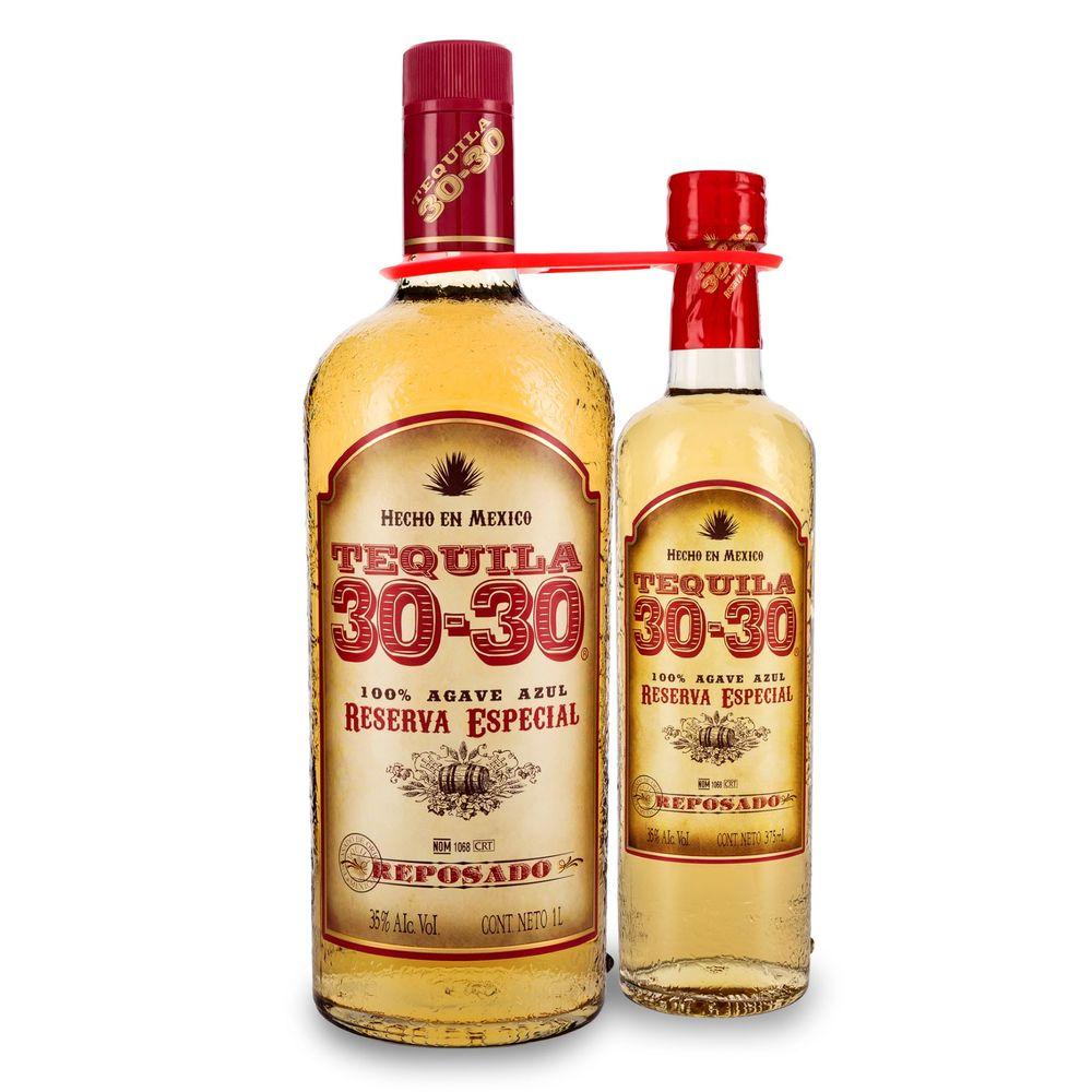 Tequila-30--30-Rep-1L-con-Bot-375-ml-Bodegas-Alianza