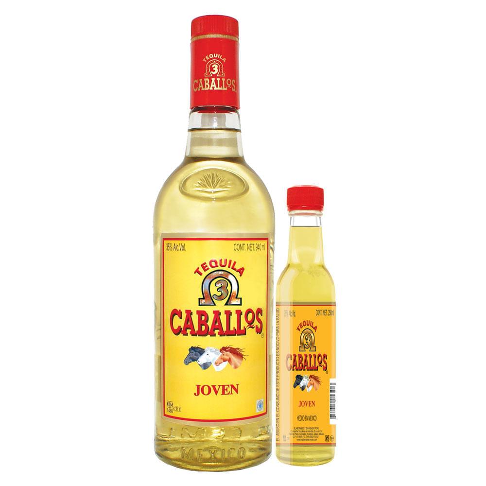 Tequila-Tres-Caballos-Joven-940ml-con-Anf-250Ml-Bodegas-Alianza