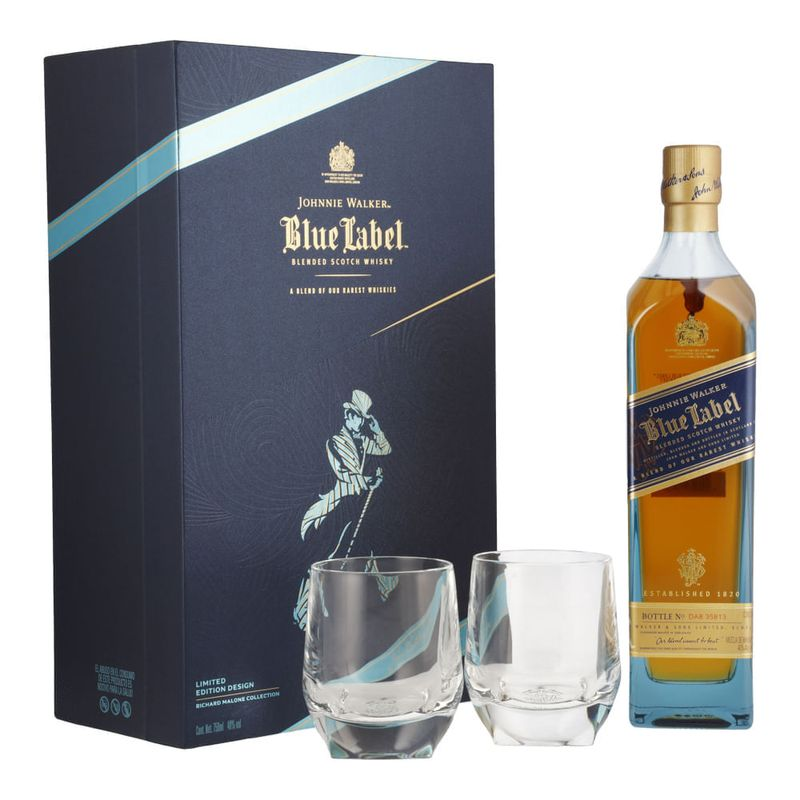 Whisky-Johnnie-Walker-Blue-750-ml-con-2-vasos-Bodegas-Alianza