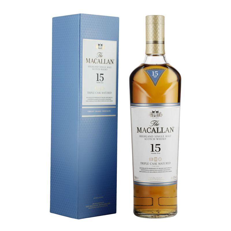 Whisky-The-Macallan-15A-3-Cask-700ml-Bodegas-Alianza