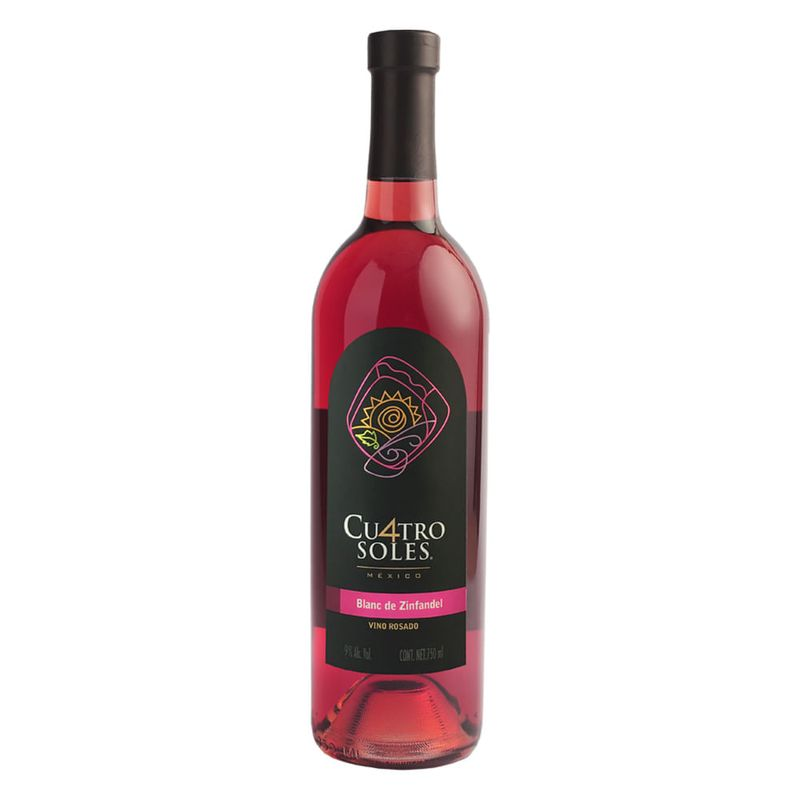 Vino-Rosado-Cu4tro-Soles-Blanc-De-Zinfandel-750-ml-Bodegas-Alianza