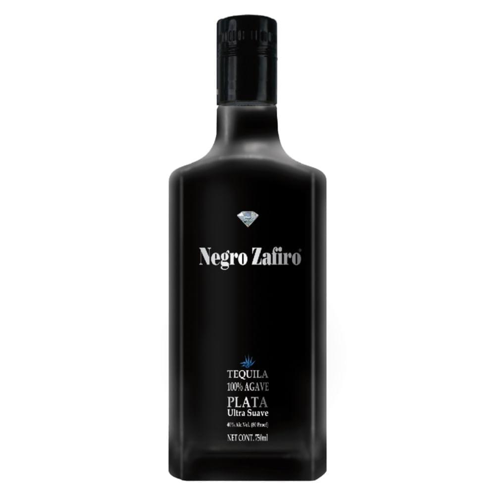 Tequila-Negro-Zafiro-Plata-750-ml-Bodegas-Alianza