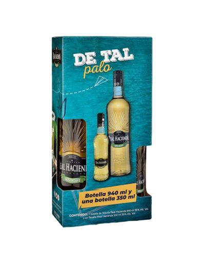 Tequila-Real-Hacienda-Reposado-940-ml-con-botella-de-350-ml-Bodegas-Alianza