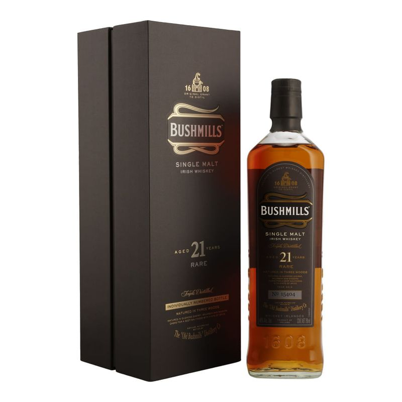 Whisky-Bushmills-21-Años-750-ml-Bodegas-Alianza