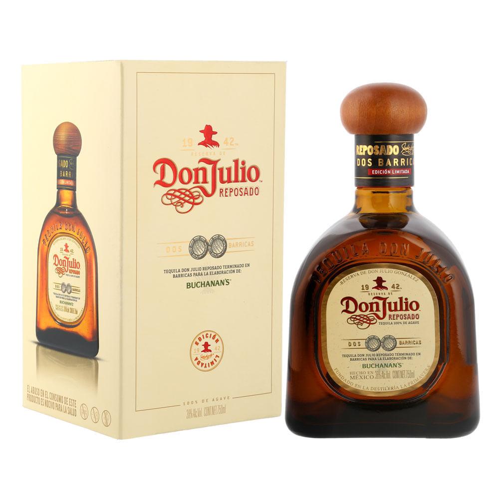 Tequila-Don-Julio-Reposado-Dos-Barricas-750ml-Bodegas-Alianza