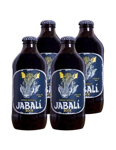 Paquete-de-4--Cerveza-Jabali-Bock-330-ml-Bodegas-Alianza