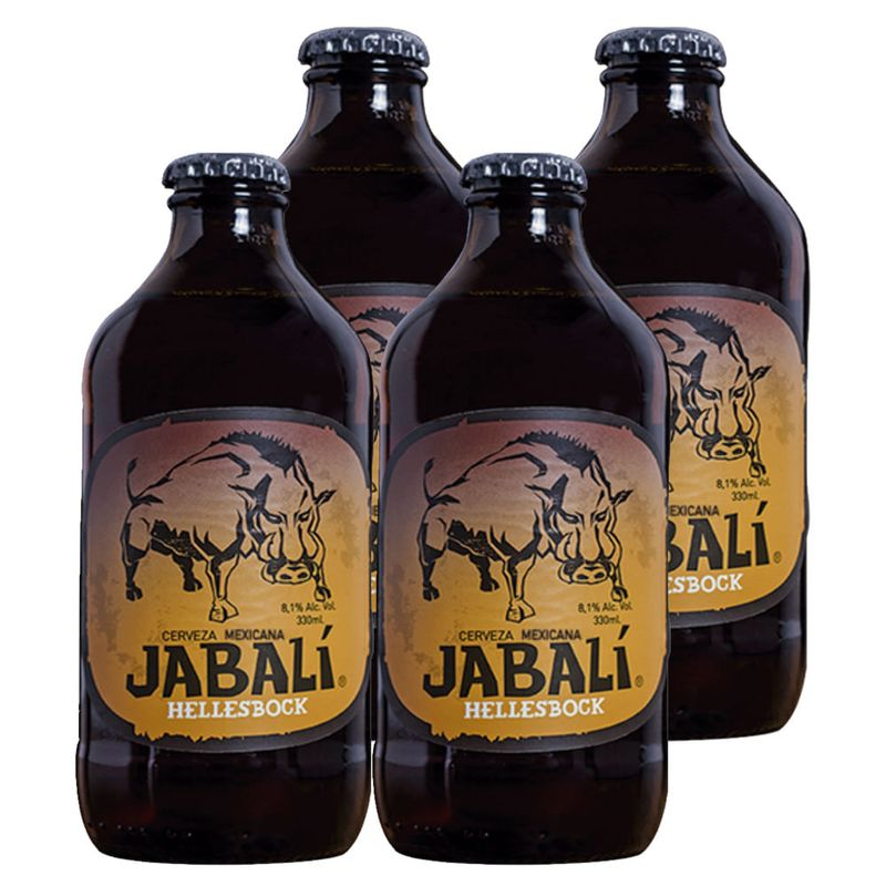 Paquete-de-4--Cerveza-Jabali-Hellesbock-330-ml-Bodegas-Alianza