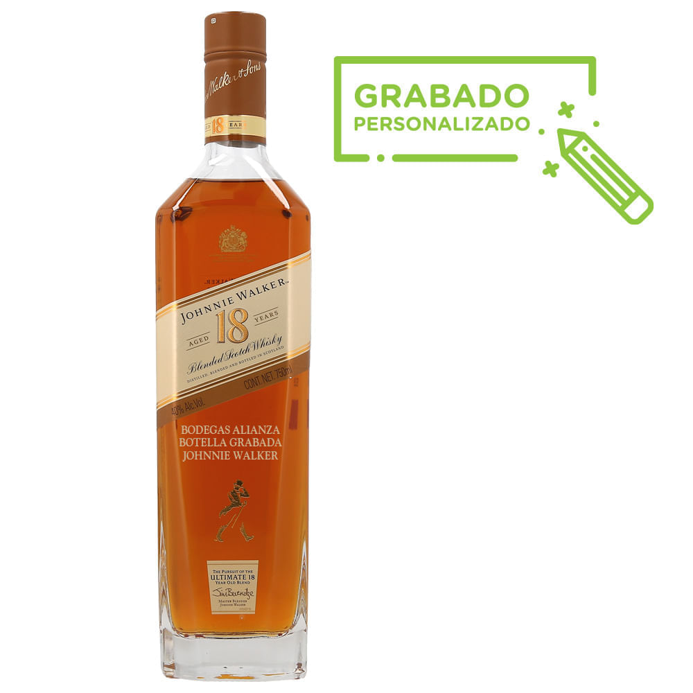 Whisky-Johnnie-Walker-18-Años-750-ml-en-botella-grabada-Bodegas-Alianza