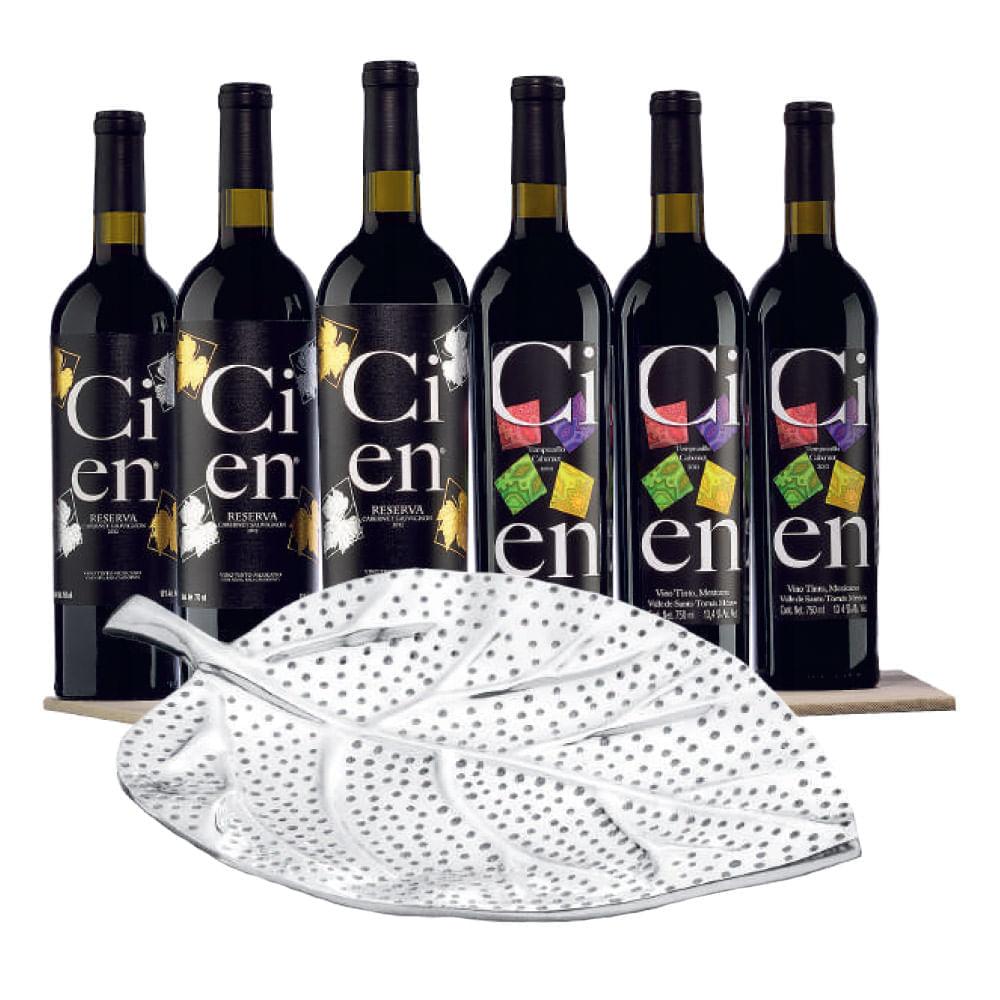 Vino-Tinto-Cien-Cabernet-Rva-3Bt--Tempranillo-3Bt---Botanero-750-ml-Bodegas-Alianza