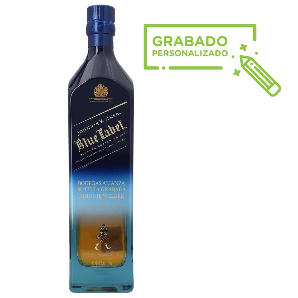 Whisky-Johnnie-Walker-Blue-Edicion-Karman-750-ml-en-botella-grabada-Bodegas-Alianza
