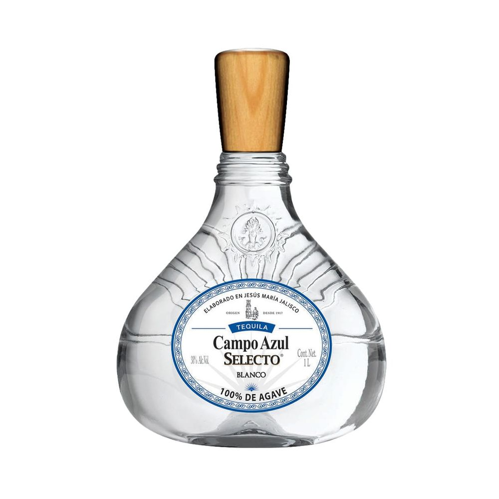 Tequila-Campo-Azul-Selecto-Blanco-1L-Bodegas-Alianza