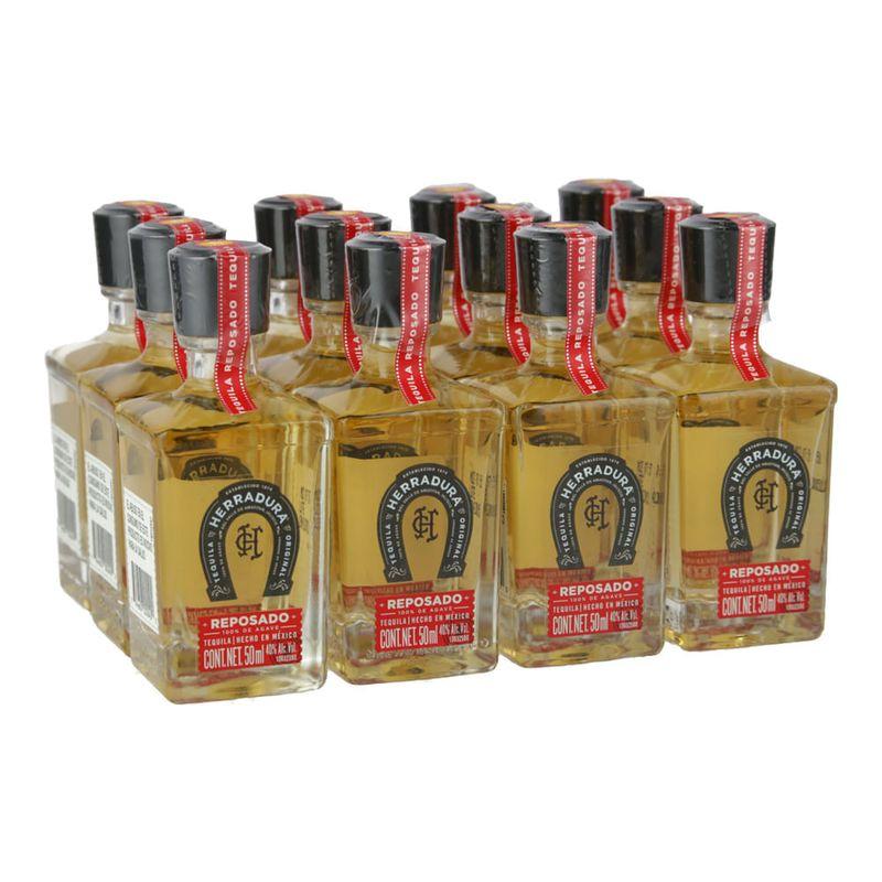 Tequila-Herradura-Reposado--12-miniaturas--50ml-Bodegas-Alianza
