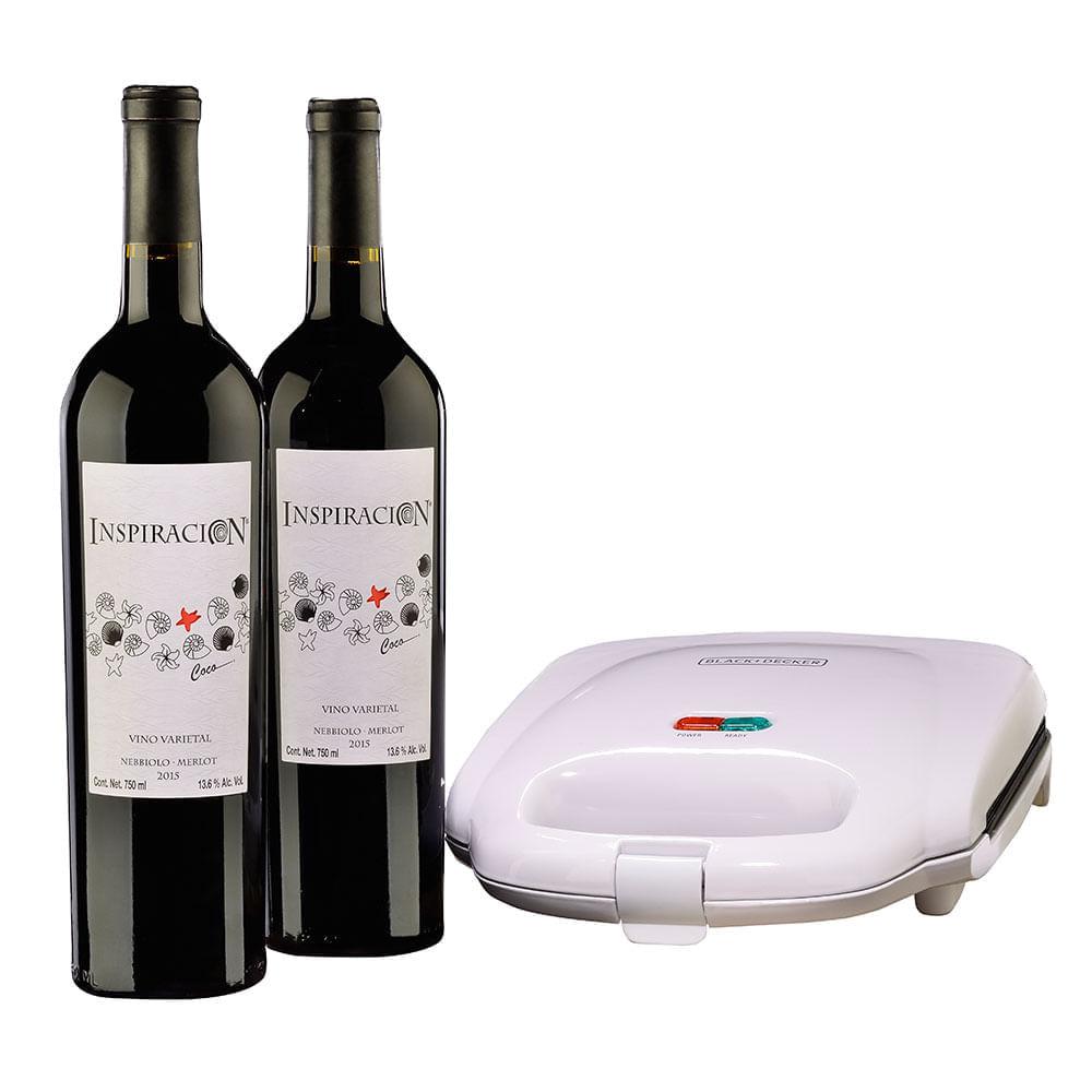 Vino-Tinto-Inspiracion-Coco-Varietal-2-botellas-750-ml-con-Sandwichera-Bodegas-Alianza