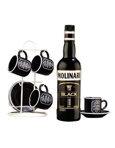 Licor-Molinari-Black-700ml-con-juego-de-platos-y-tazas-para-4-personas-Bodegas-Alianza