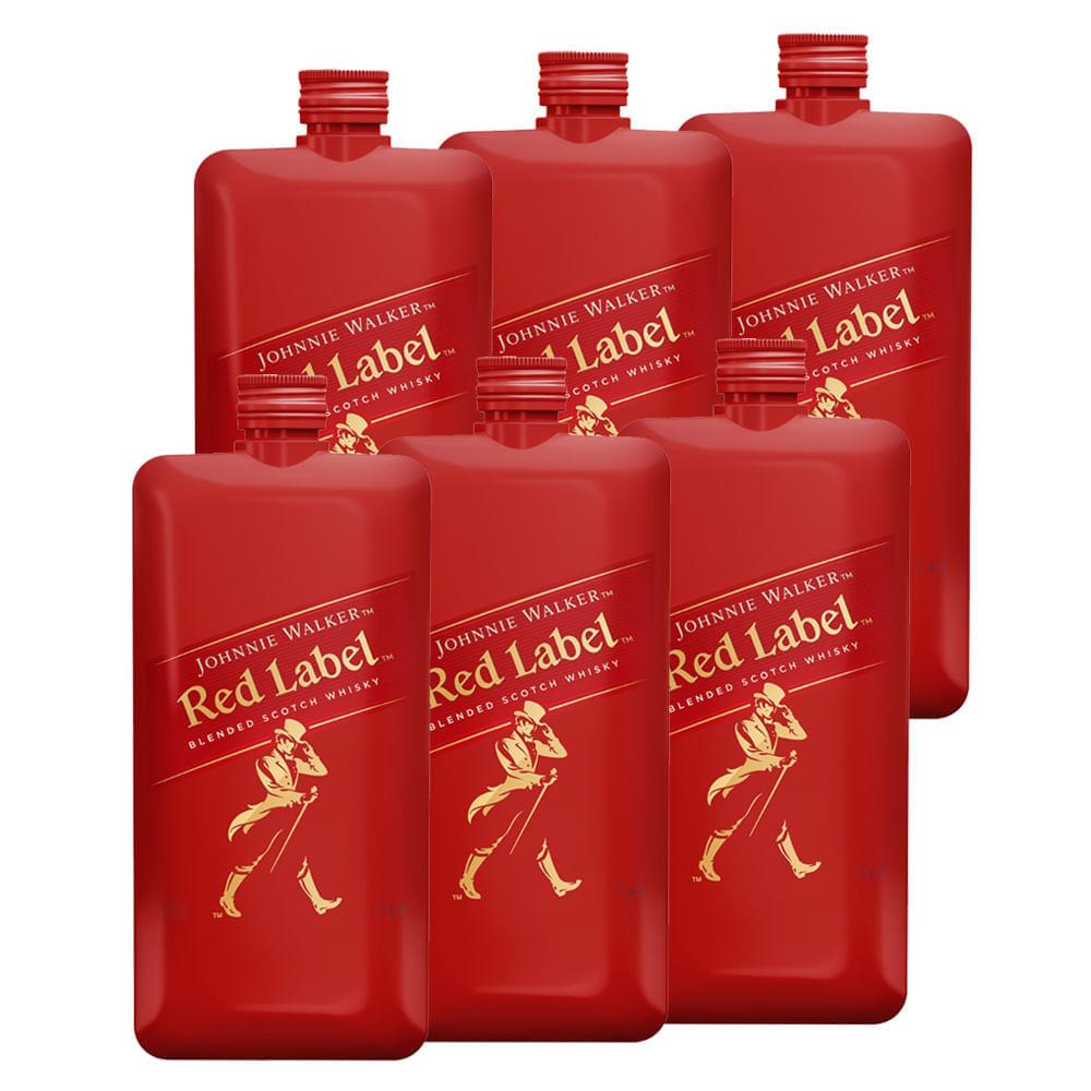 Whisky-Johnnie-Walker-Red--6-Botellas--200ml-Bodegas-Alianza