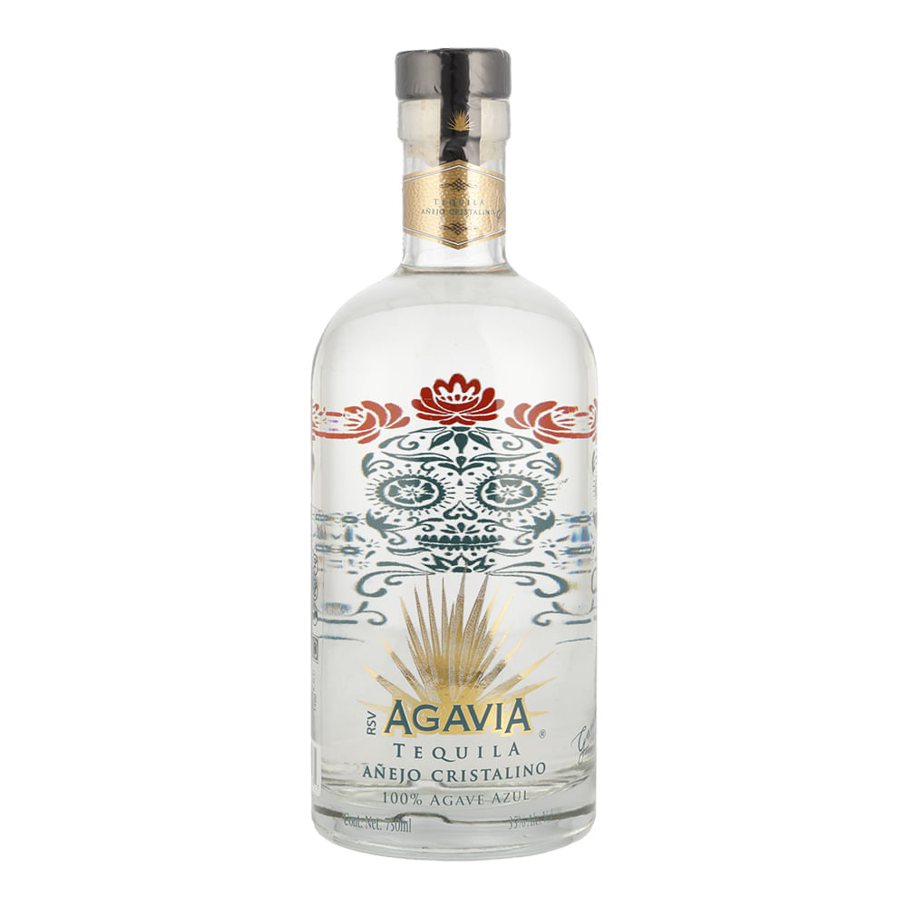Tequila-Agavia-Añejo-Cristalino-750ml-Bodegas-Alianza
