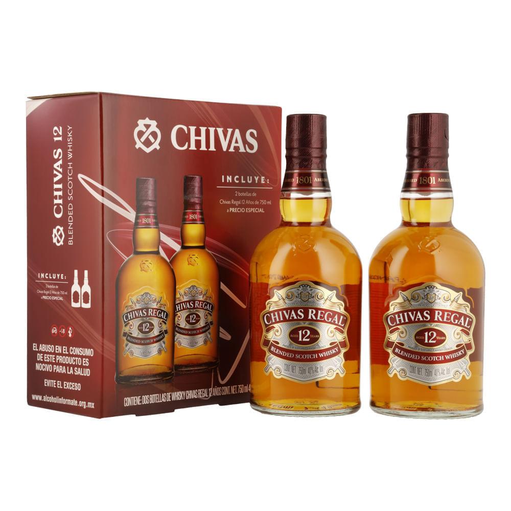 Whisky-Chivas-Regal-12-Años-Est-2Bt--Precio-Esp--750ml-Bodegas-Alianza