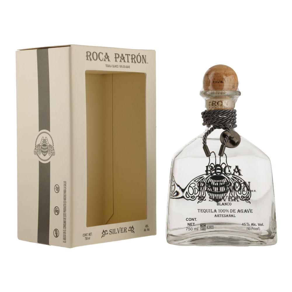 Tequila-Patron-Roca-Silver-750ml-Bodegas-Alianza