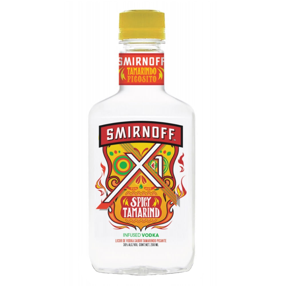 Vodka-Smirnoff-X-1-Spicy-Tamarind-200ml-Bodegas-Alianza