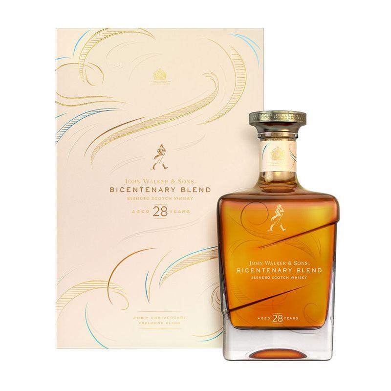 Whisky-Johnnie-Walker-Sons-Bicentenary-28-Years-700ml-Bodegas-Alianza