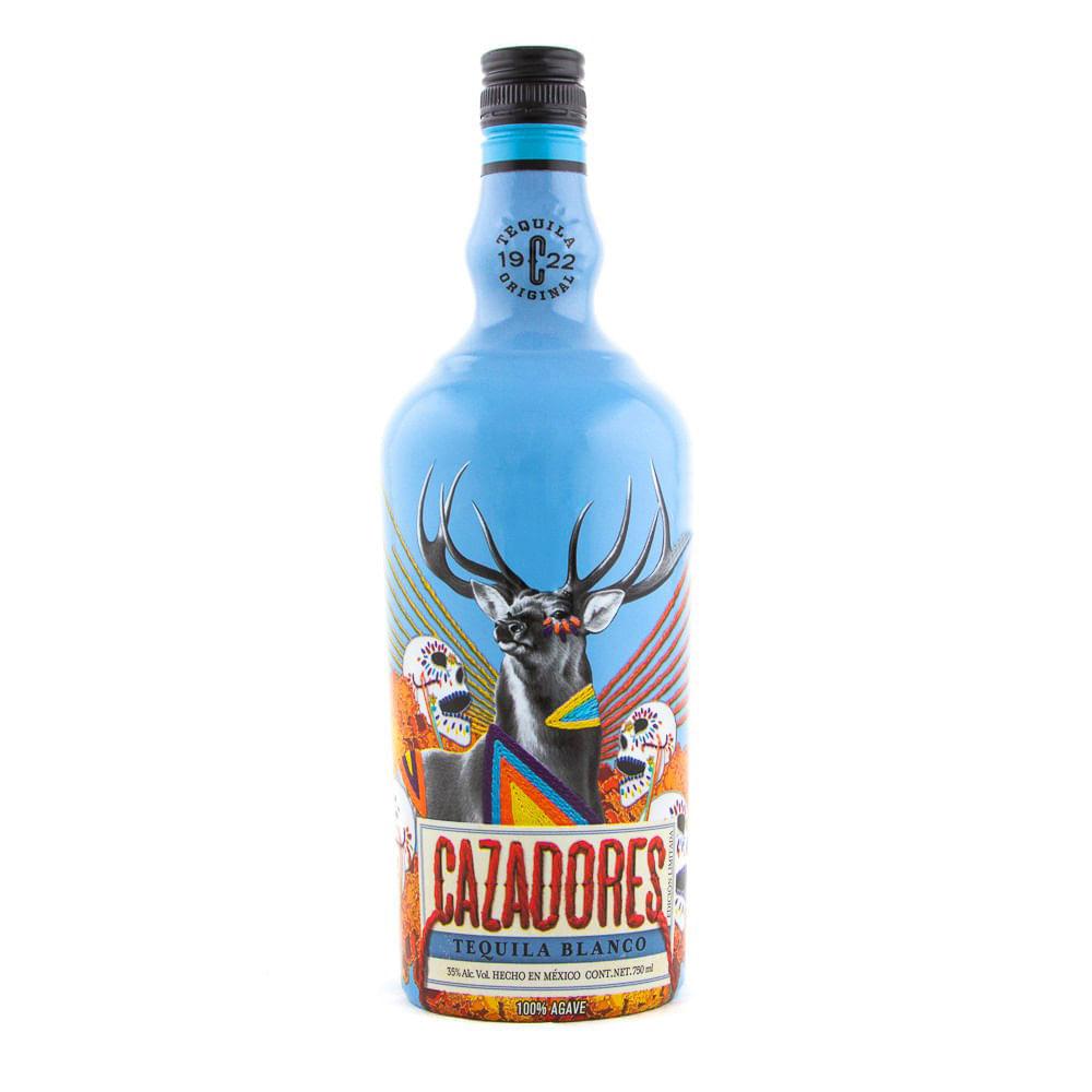 Tequila-Cazadores-Bco-750ml-Edic-Halloween-Bodegas-Alianza