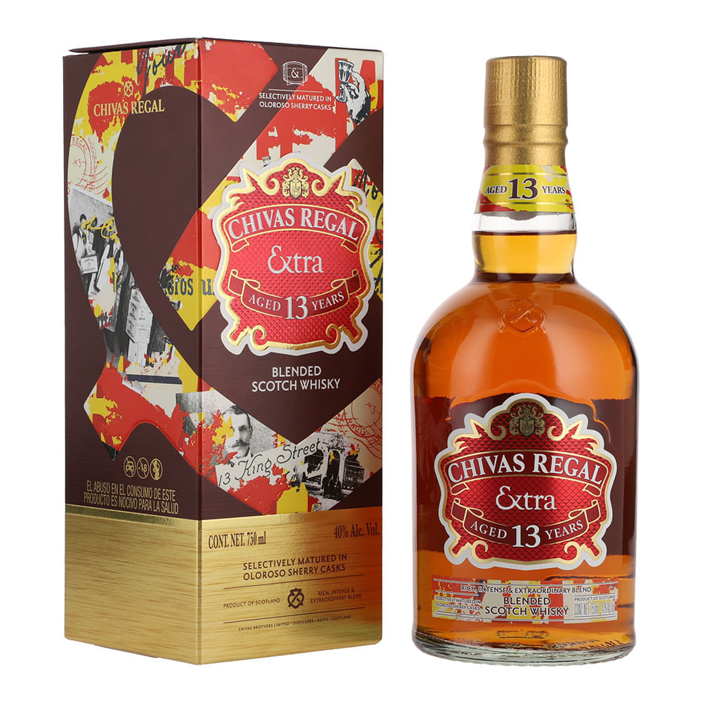 Whisky-Chivas-Regal-Extra-13A-Sherry-750ml-Bodegas-Alianza