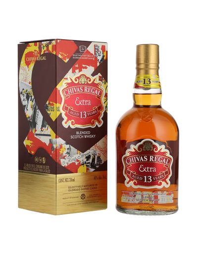 Whisky-Chivas-Regal-Extra-13A-Sherry-750ml-Bodegas-Alianza