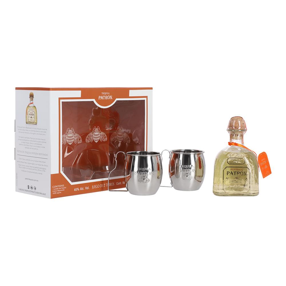 Tequila-Patron-Rep-750ml-con-2-Tarros-Bodegas-Alianza