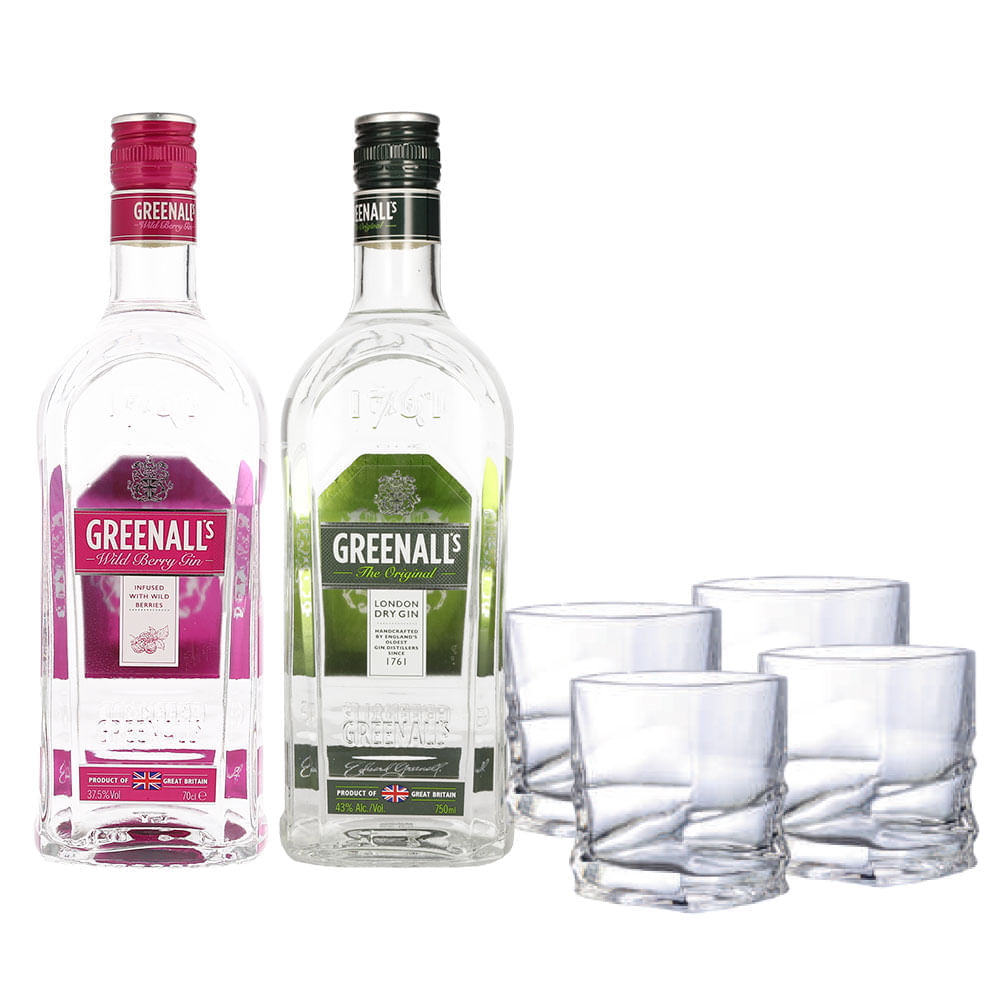 Ginebra-Greenalls-Wild-Berry-Original-C-4-Vasos-700-ml-Bodegas-Alianza