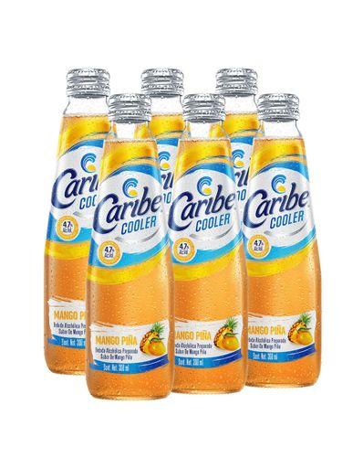 Caribe-Cooler-Mango-Piña--6Pzas--300-ml-Bodegas-Alianza