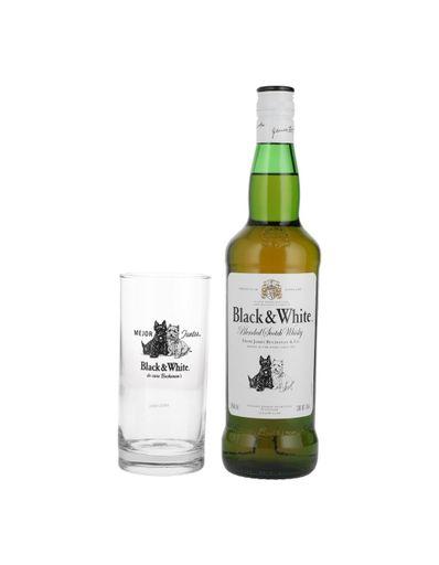 Whisky-Black---White-700-ml-con-vaso-Bodegas-Alianza